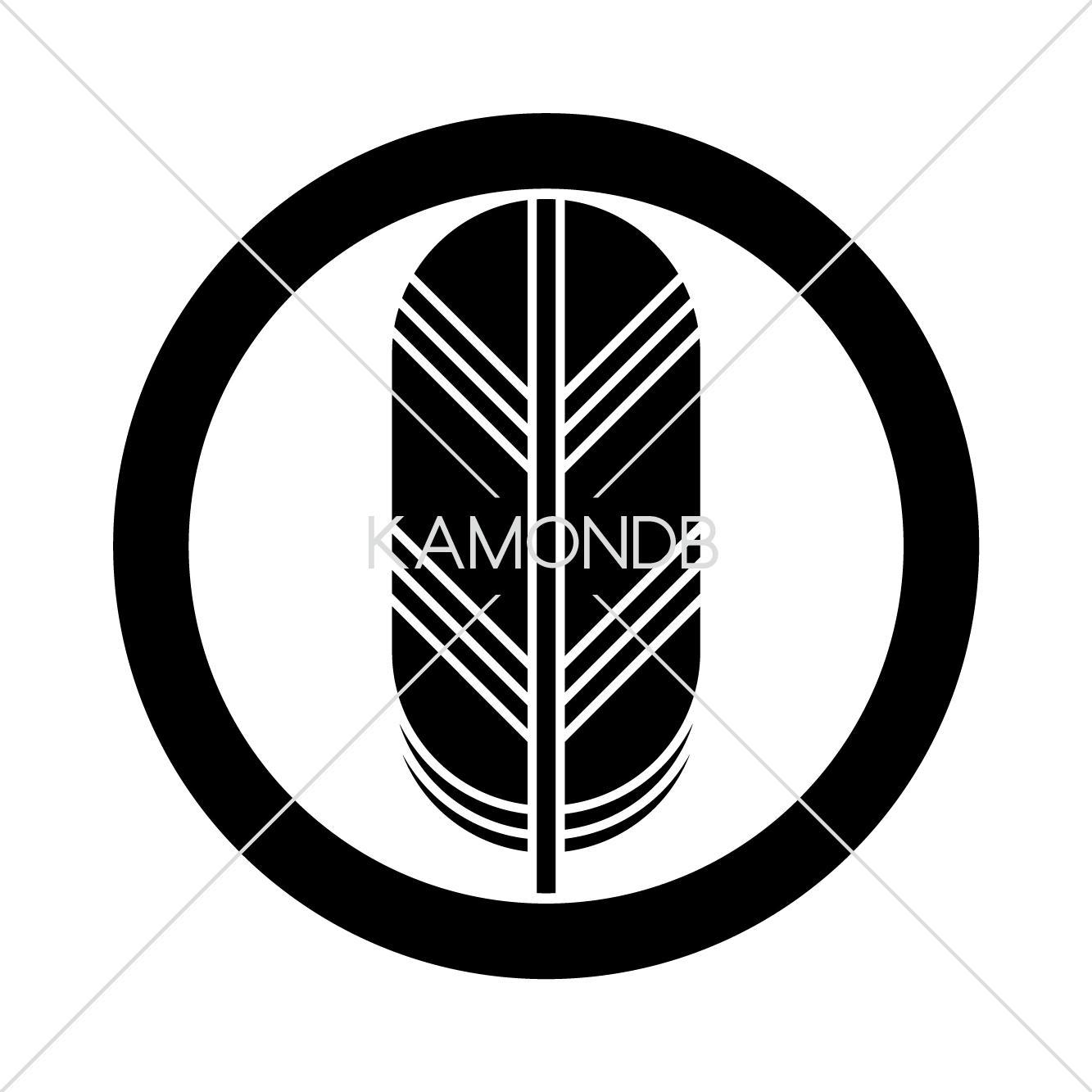 丸に一つ鷹の羽 – 家紋DB
