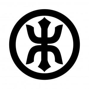 丸に剣木の字