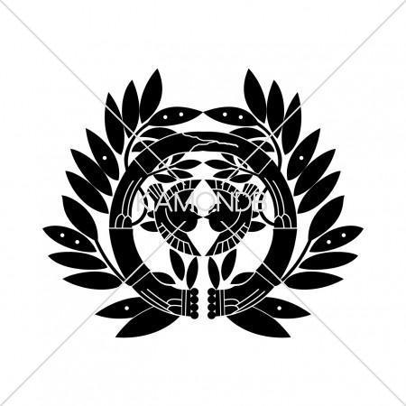 竹に雀紋-仙台笹