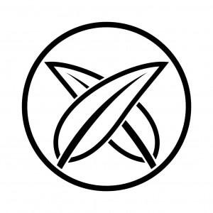 糸輪に陰違い葦の葉