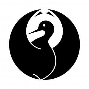 光琳鶴の丸