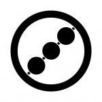 丸に三つ串団子