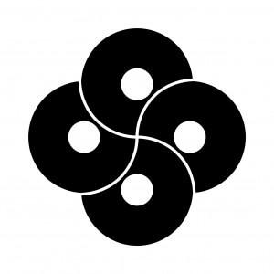 四つ捻じ蛇の目