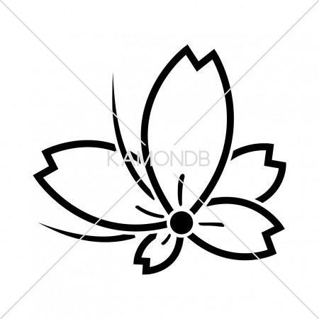 中陰桜飛び蝶