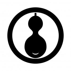 丸に一つ瓢