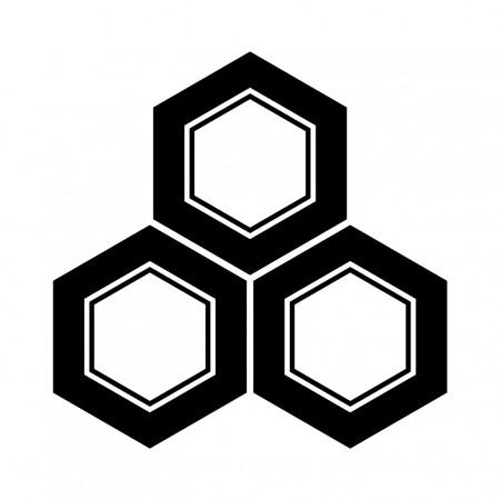 三つ盛亀甲