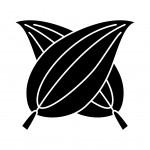 違い梛の葉