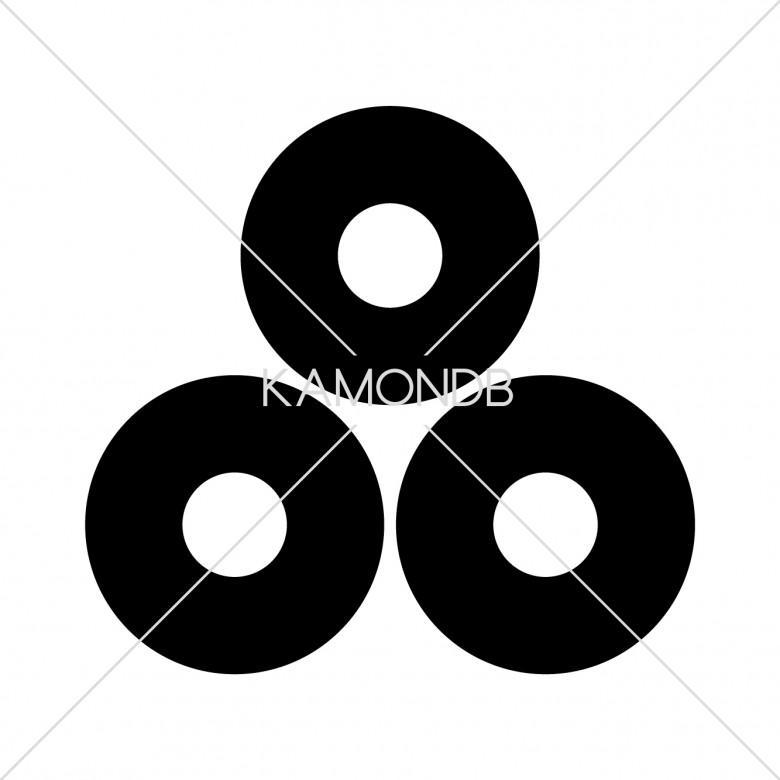 三つ盛蛇の目
