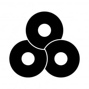 三つ捻じ蛇の目