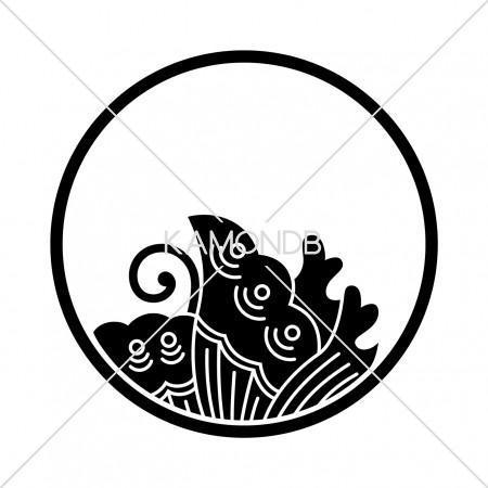 糸輪に覗き揚羽蝶
