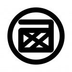 丸に西文字