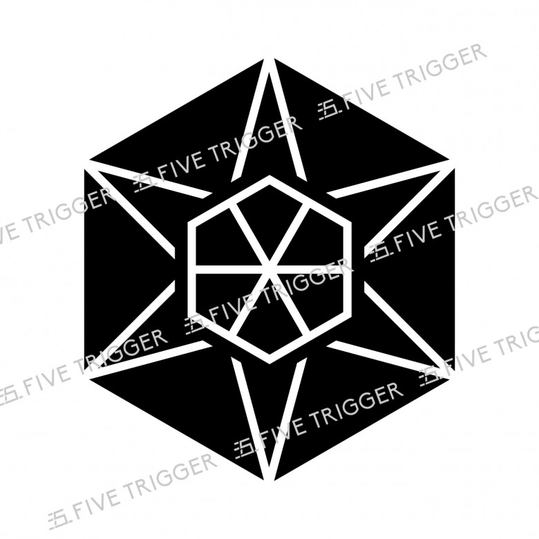 六の字組合亀甲