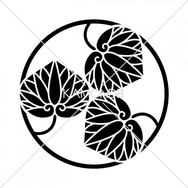 三つ葵の丸