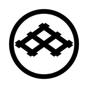 中輪に三つ持合井桁