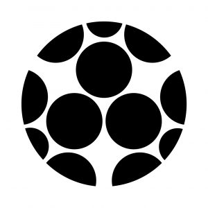 三つ割星梅鉢(1)