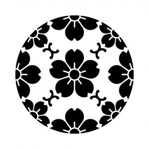 浮線綾山桜