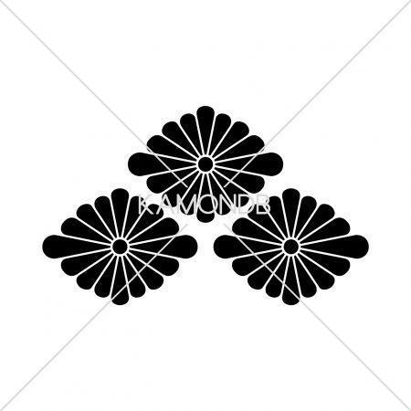 三つ盛菊菱