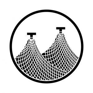 糸輪に二つ干網(1)