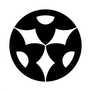 三つ変わり光琳山文字