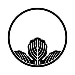 糸輪に覗き梶の葉