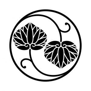 二つ蔓葵の丸