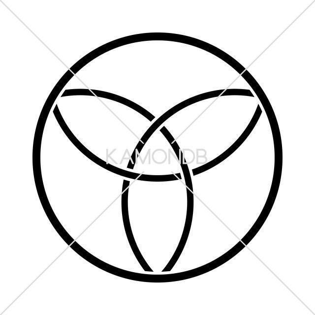 糸輪に三つ割金輪
