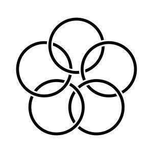 五つ組金輪