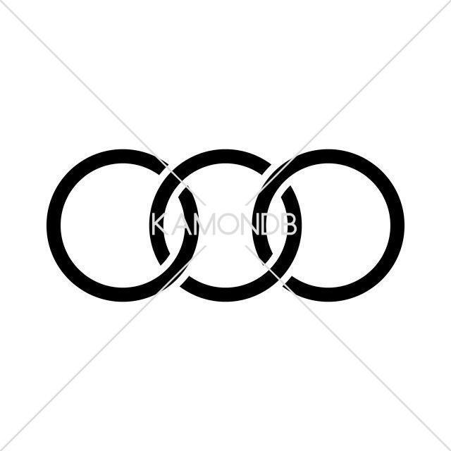 三つ繋ぎ金輪