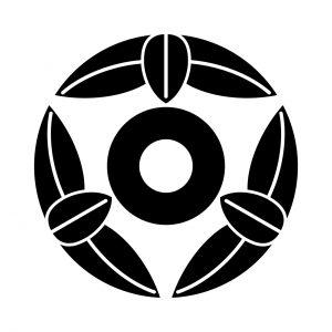 九枚笹に蛇の目
