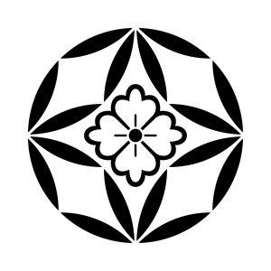 四つ七宝陰花角