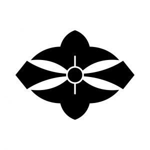 変わり二つ剣花菱