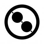 丸に二つ串団子