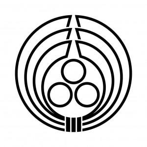 総陰熨斗輪に三つ星