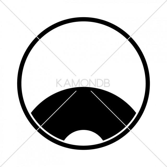 糸輪に覗き蛇の目