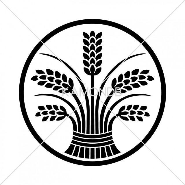 糸輪に立ち稲