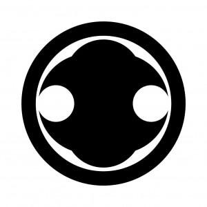 丸に花形分銅