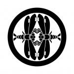 丸に対い蜻蛉