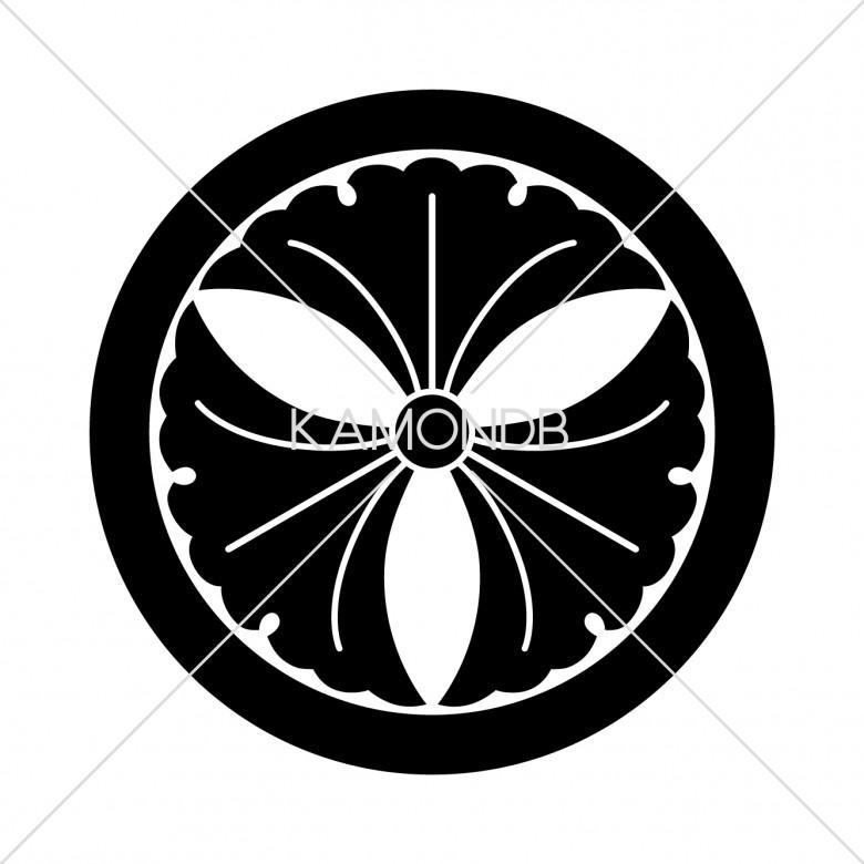 丸に三つ銀杏