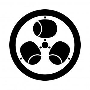 丸に三つ槌