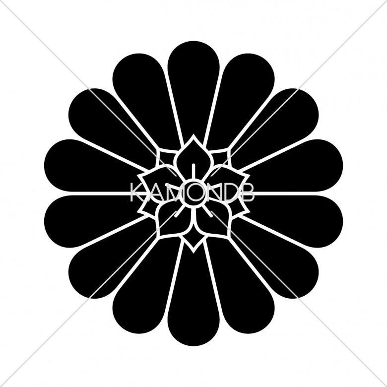 十四一重裏菊