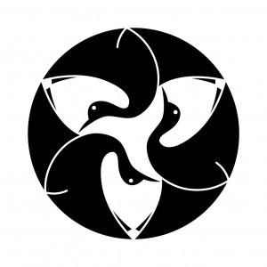 光琳三羽鶴