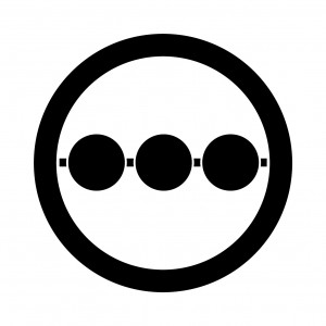 丸に三つ並び串団子