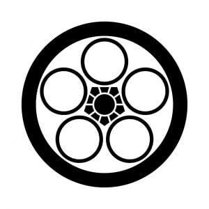 丸に中陰梅鉢