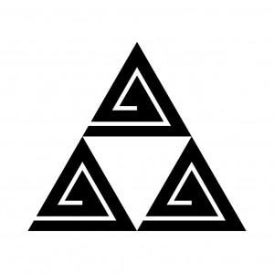 三つ鱗形稲妻