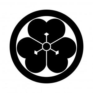 丸に庄内片喰(1)