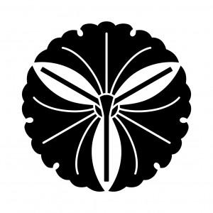 三つ軸違い銀杏