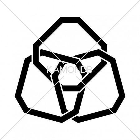 三つ組隅切角