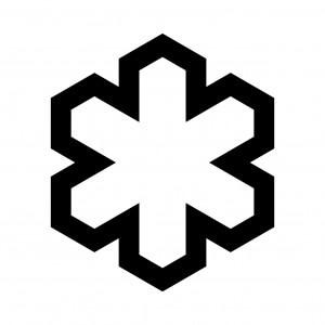 六方亀甲形