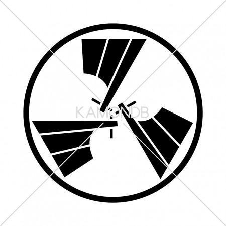 糸輪に三つ舵