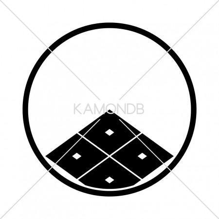 糸輪に覗き四つ目菱